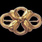 Georg Jensen 18kt. Gold Pin # 1305 - Circa 1965