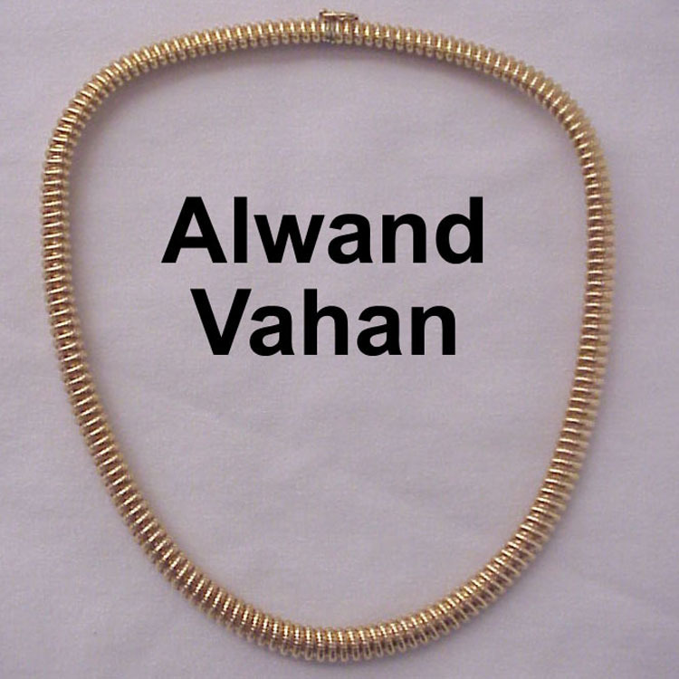 Alwand Vahan 14 kt  Yellow Gold Necklace