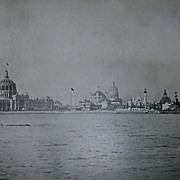 1893 World's Columbian Exposition General View From the Lake by W.H. Jackson