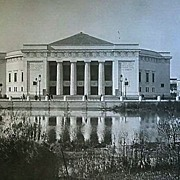 1893 World's Columbian Exposition Choral Hall From Wooded Island by W. H. Jackson