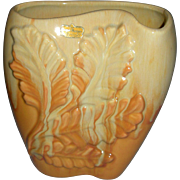 Royal Haeger by Royal Hickman Tropical Leaf Vase