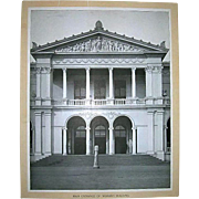 1893 World's Columbian Exposition Main Entrance of Woman's Building by W.H. Jackson