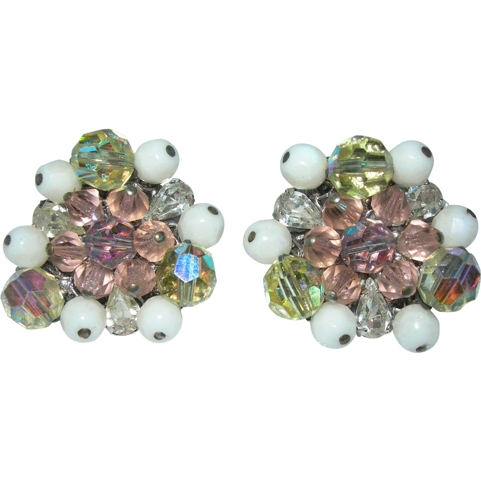 Vintage signed eugene rhinestone earrings my favorite for Vintage jewelry store near me