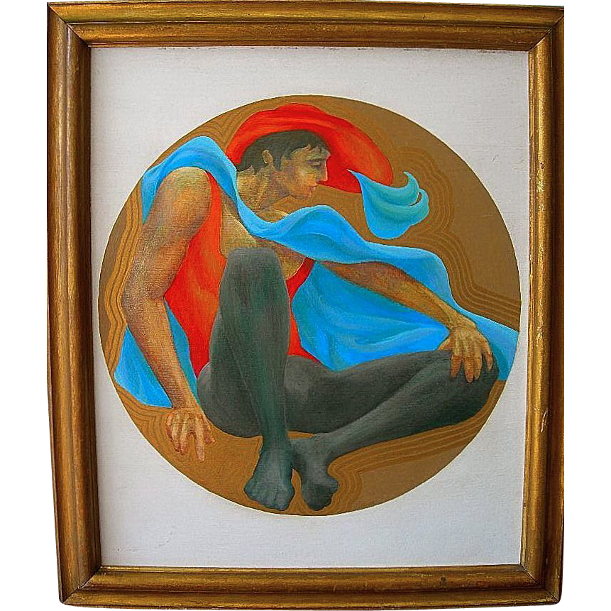 Figure of a Man by New York Artist Robert Kushner
