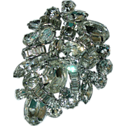 Kramer of New York Brilliant Dazzler Rhinestone Brooch