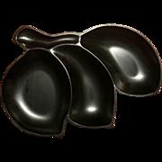 Vintage Mid Century Charles McCrea Grainware Snack Tray
