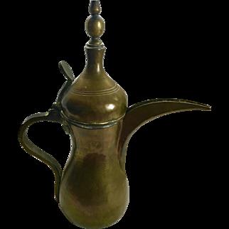 Arabian Dallah, Bedouin Coffee Pot