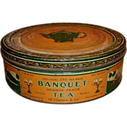 Banquet Tea Advertising Tin - McCormick Baltimore