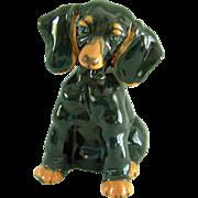 Vintage Dachshund Figurine Porcelain Halsey Imports 1953