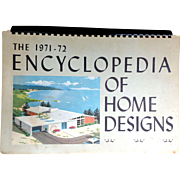 Mid Century 1971-72 Encyclopedia of Home Designs Book - Red Tag Sale Item