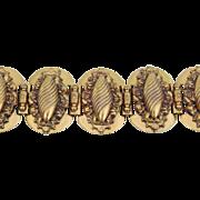 Vintage Wide Ornate VICTORIAN REVIVAL Bracelet
