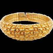 Vintage ST. JOHN Designer Dots & Dashes Bracelet