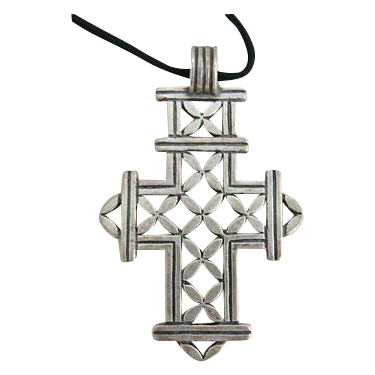 Retired JAMES AVERY Sterling Silver Cross Pendant
