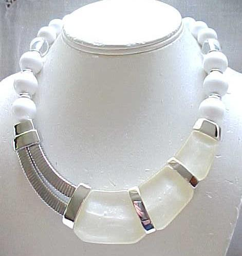 Awesome Industrial Kunio Matsumoto Necklace Trifari