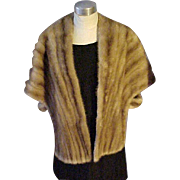 Beautiful Mink Stole McCurdy's  - Size Small