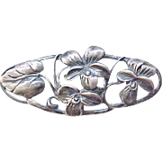 Sterling Danecraft Floral Brooch - Beautiful and Unusual
