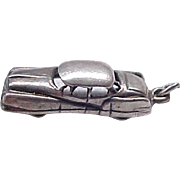 Sterling Car Charm - Vintage Car - Danecraft