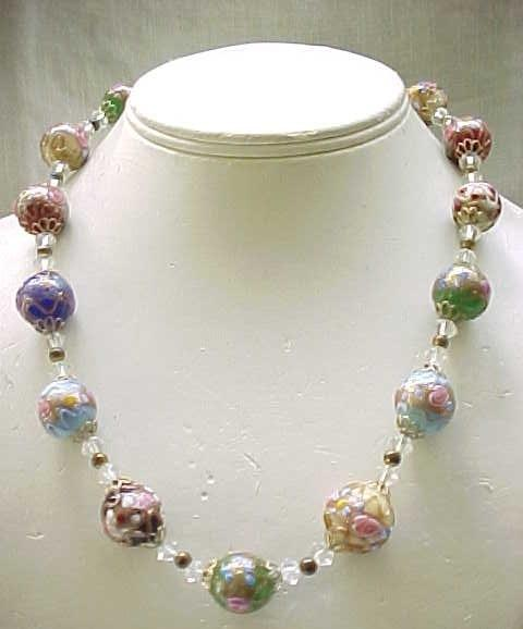 Wedding Cake Bead Necklace - All Colors - Spectacular