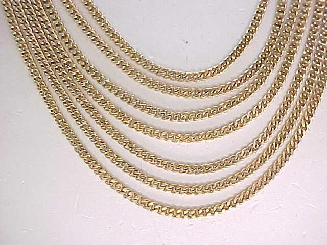 02 - Monet 7 Strand Necklace - Classic Look
