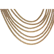 10 - Monet 7 Strand Necklace - Classic Look
