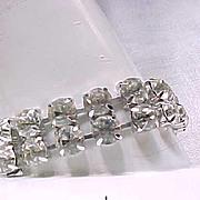 Spectacular Vendome Rhinestone Bracelet