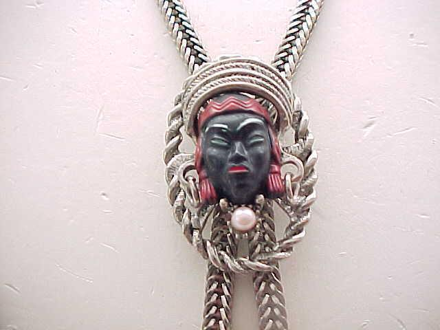 Selro African Princess Necklace with Dangles & Earrings