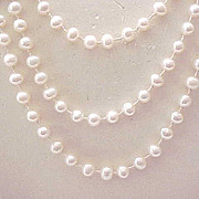 Extra Long Strand of Cultured Pearls
