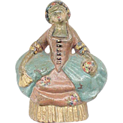 Doorstop Hooped Skirt Colonial Woman - Albany Foundry