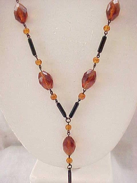Outstanding Flapper Necklace - Long Y-shape Center