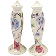 Blue Ridge Pottery Chintz S & P - Salt and Pepper
