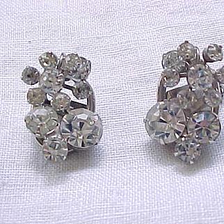 Sparkling Juliana Diamante Rhinestone Earrings