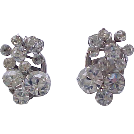 Sparkling Juliana Diamante Rhinestone Earrings ...