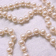 Panetta Lovely Single Strand Faux Pearl Necklace