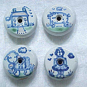 Hadley Pottery Cabinet Knobs, Drawer Pulls - Farm