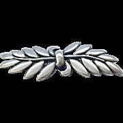 Lovely Danecraft Sterling Pin - Olive Branch