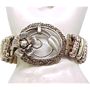 Unusual Lustern Sweetheart Expansion Bracelet