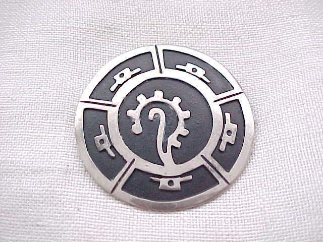 Taxco Sterling Silver Pin/Pendant