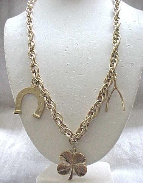 10 - Good Luck Charm Necklace