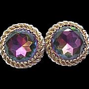 Schiaparelli Tourmaline Earrings - Watermelon Stones