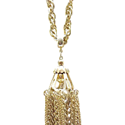 10 - Long and Chunky Tassel Necklace - Tres Chic