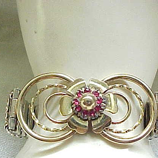 Fab Sweetheart Expansion Bracelet by Lustern - GF over Sterling