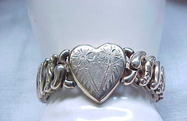 Sweetheart Expansion Bracelet - American Queen Pitman & Keeler