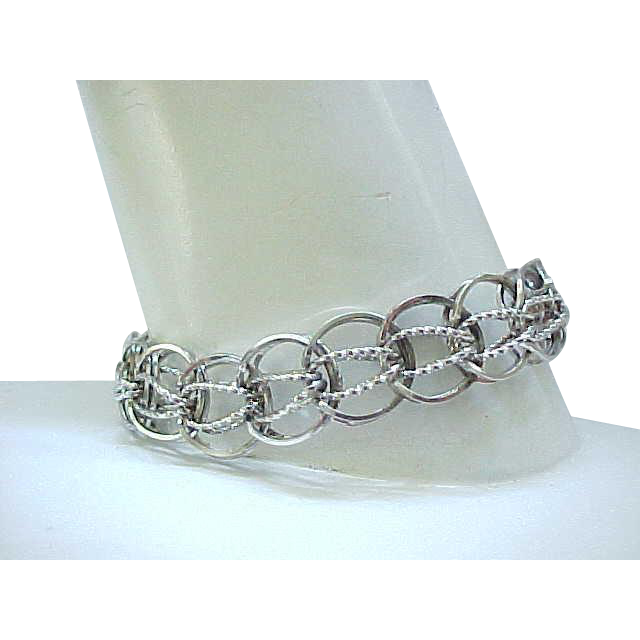 sterling silver starter charm bracelet from rubylane sold