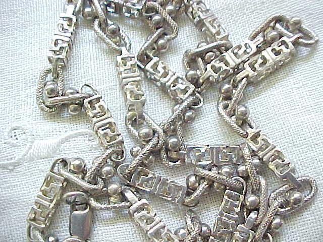 Marvelous Sterling Silver Necklace - Must See