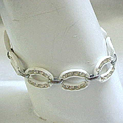 11 - Sweet & Sparkly Celluloid Bracelet