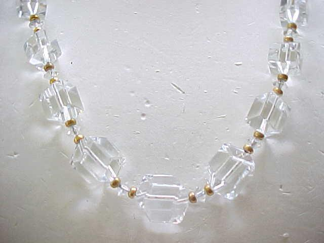 Outstanding Crystal Necklace - Not Your Ordinary Crystal Necklace......