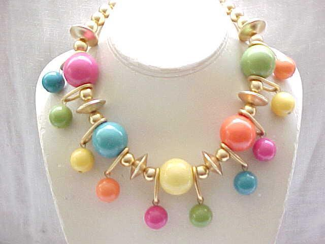 Colorful Les Bernard Necklace - My Favorite!!