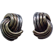 Impressive Sterling Earrings - Show Stoppers!
