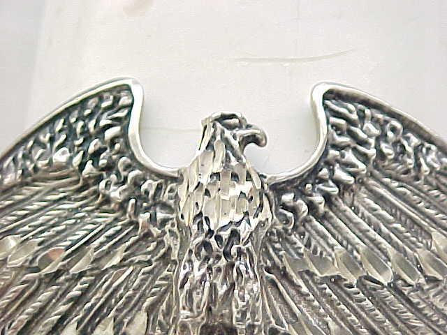 Spectacular Sterling Silver Eagle Bracelet - Ott Sterling