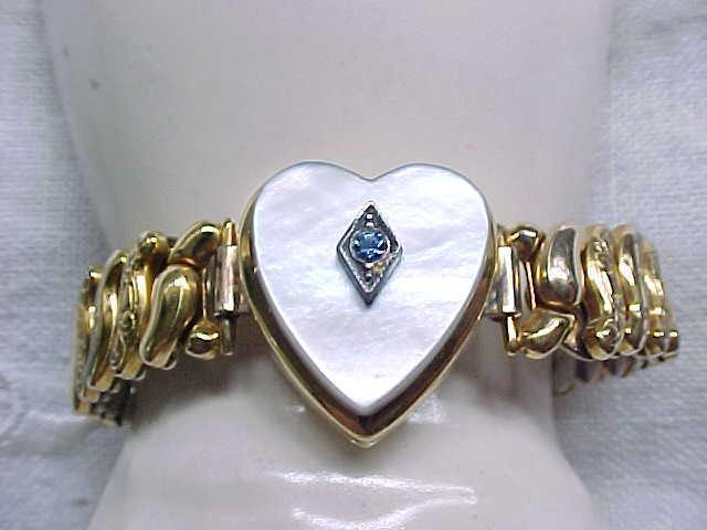 Co-Star Sweetheart Expansion Bracelet - Heart Center